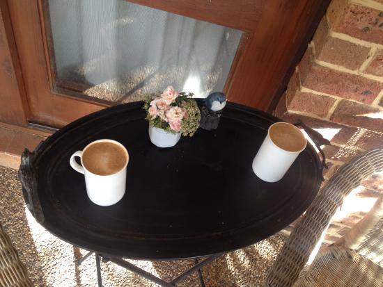 Glendalough Alpacas: home made cappuccino