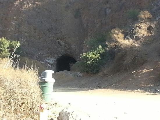 "Bronson Caves: The entrance area to the famous ""Bat Cave.""  (picture taken 11-29-2014 @ 2pm)"