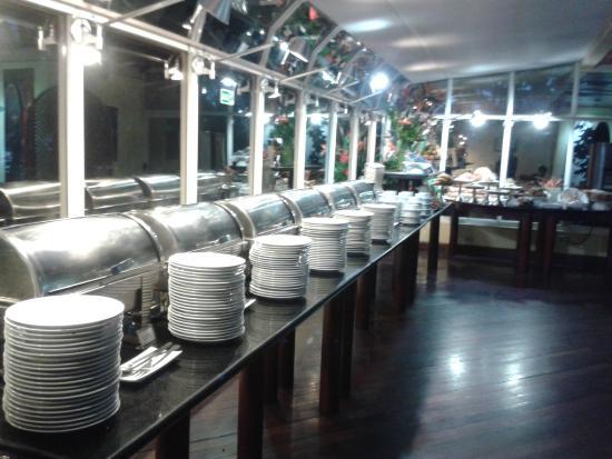 Altamira Suites: Vista del comedor