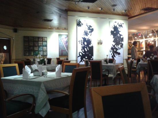 Altamira Suites: Area del restaurant donde sirven el desayuno
