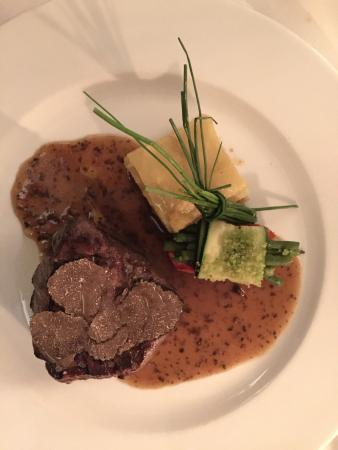 La Rocca : Sirloin, truffel