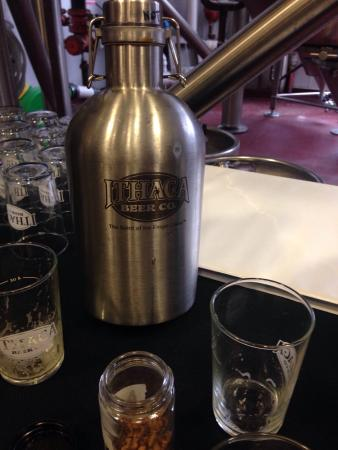 Ithaca Beer Co.: Brewery tour
