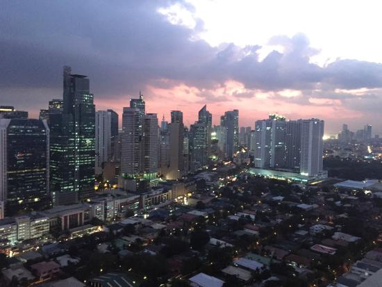 View from the bar Picture of City Garden Grand Hotel Makati