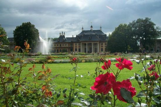 Jardim central de Pillnitz