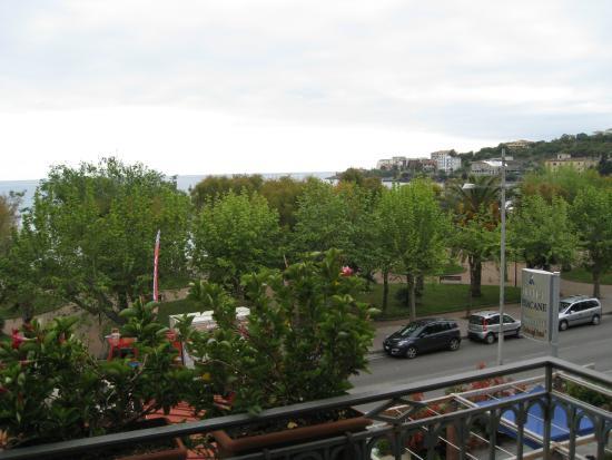 Hotel Pisacane: View from top floor room