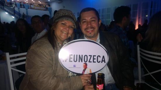 Hotel Dan Inn Anhanguera: Show do Zeca Pagodinho