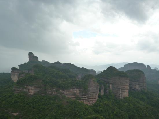 Shaoguan Danxia Mountain Geopark: Гора Данься