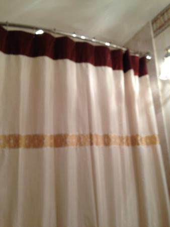 Omni San Francisco Hotel: showe curtain in bathroom