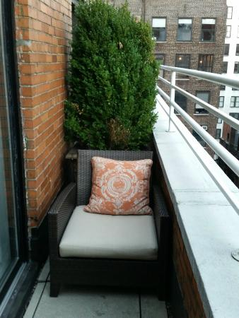 little balcony picture of the roger new york city tripadvisor rh tripadvisor com