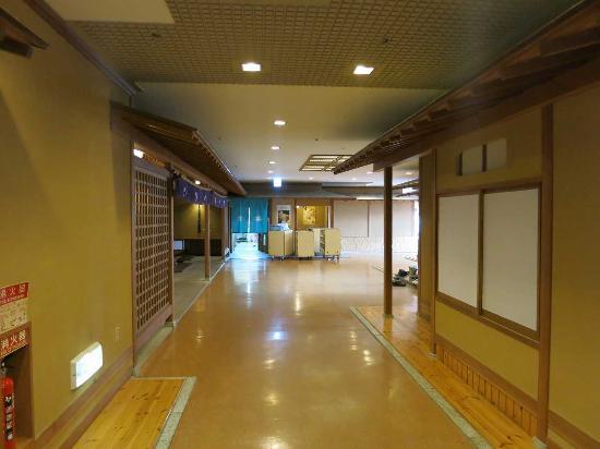 Hotel Matsushima Taikanso: 宴会場フロア