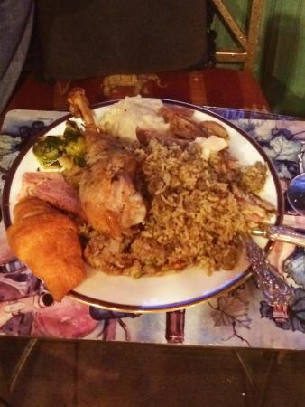 Ann Street Inn: thanksgiving meal