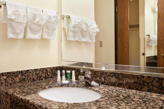 Baymont Inn & Suites Anderson : Bathroom Sink