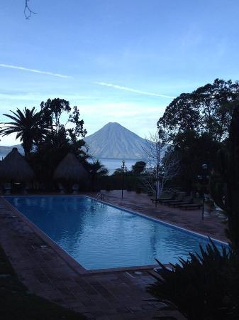 Villa Santa Catarina: eu estava tomando meu café da manhã olhando para essa paisagem...