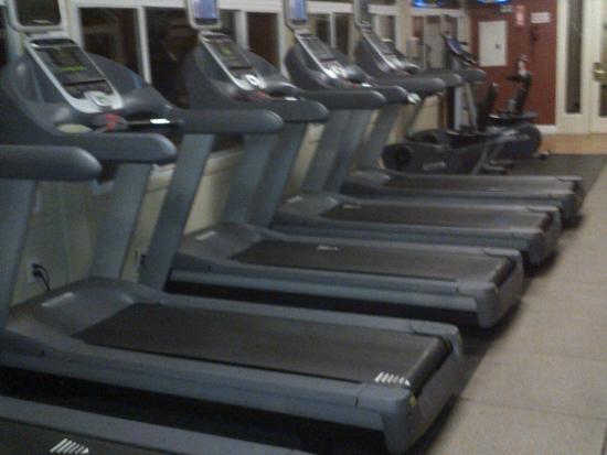 Hilton Oakland Airport: Treadmills
