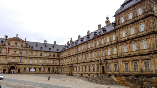 Neue Residenz : fachada