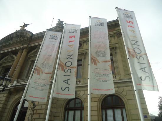 Grand Theatre de Geneve : Anuncios de temporada