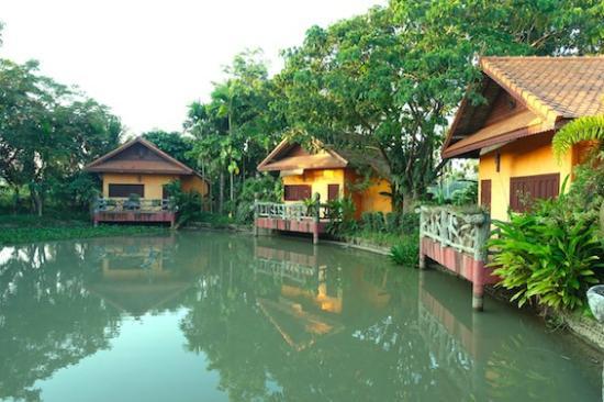 Baan Klang Tong: 客室テラスからの眺め
