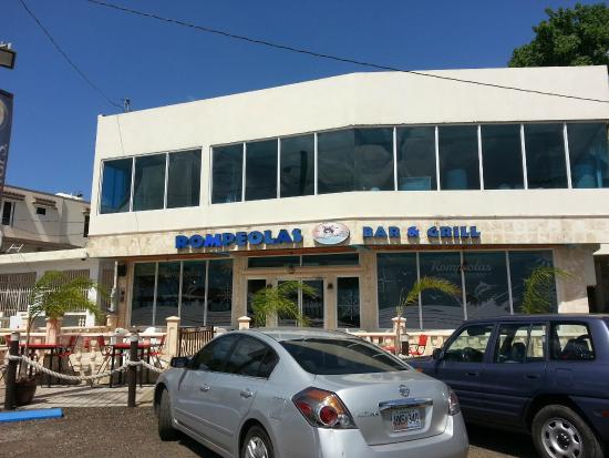 Rompeolas Bar And Grill: The Building During The Day Part 87