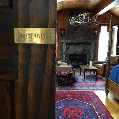 ‪‪WhistleWood Farm Bed and Breakfast‬: Entrance to the Northwind Room‬