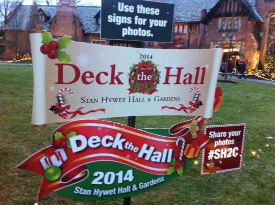 Stan Hywet Hall & Gardens : Deck the Hall 2014