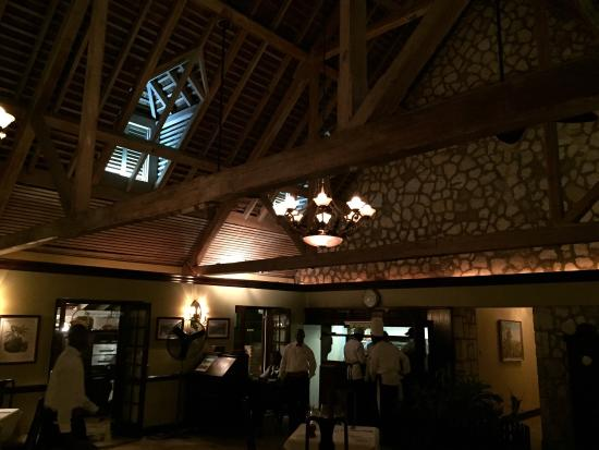 Sugar Mill: Vaulted ceiling