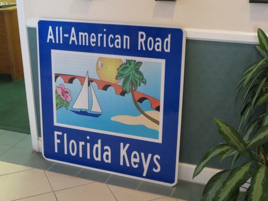 Florida Keys Visitor Center: sign