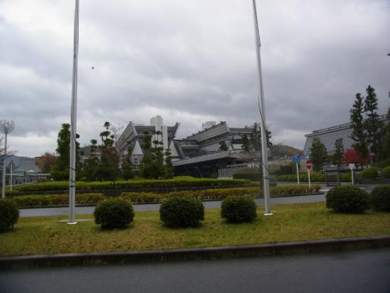 Kyoto International Conference Center : グランドプリンス側より撮影