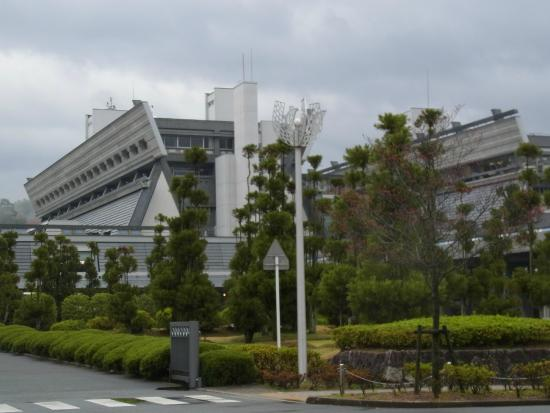 Kyoto International Conference Center : 専用取付道路より撮影
