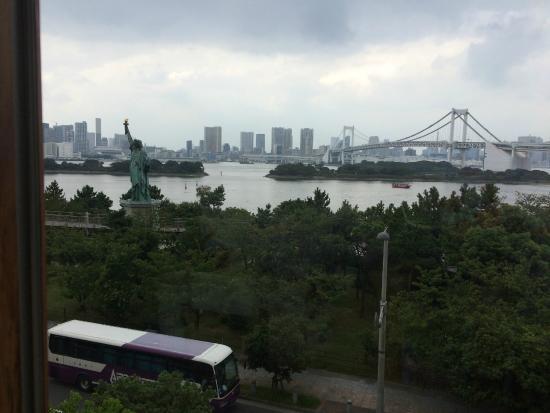 Kua 'aina Aqua City Odaiba: View from restaurant
