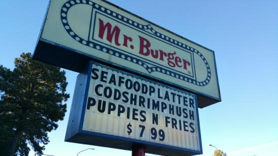 Burger fries and onion rings - Picture of Mr. Burger, Ruidoso ...