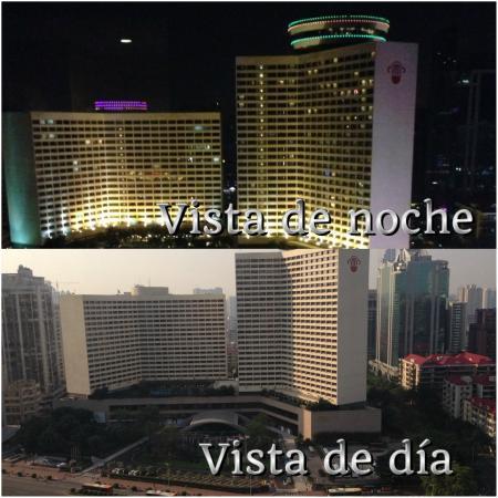 Baiyun Hotel: vista de dial noche