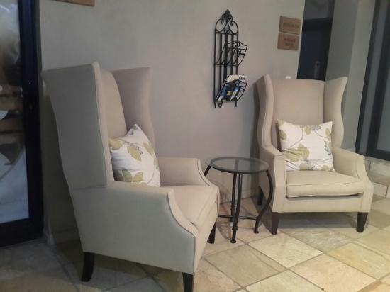 Fynbos Golf Club Waiting Area Outside Beauty Salon Massage Room
