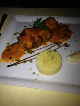 Coco51 Restaurant & Bar, by the Sea : Cod in red pepper sauce