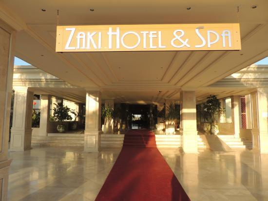 Zaki Hotel: Entrada do hotel