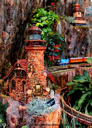 United States Botanic Garden: Part Of The Holiday Train Display At The US  Botanic Garden