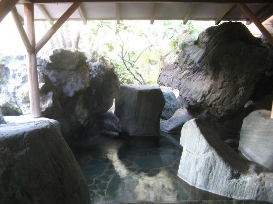 Yunoyado Rakusan: 露天・岩風呂