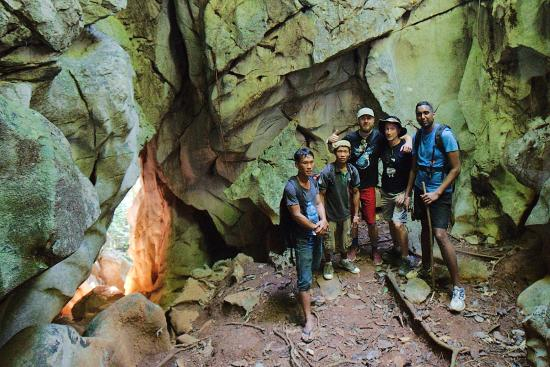 Green Discovery: cool caves and other areas