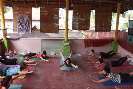 Shiva Garden: Yoga class