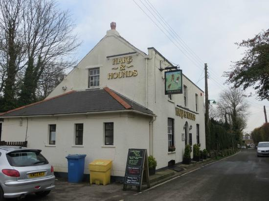 The Hare & Hounds: Exterior