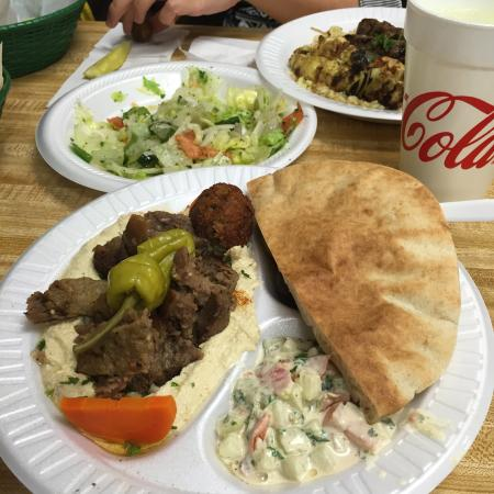 Perfect Pita House: Good Food! Good Price! Good Owner! Bad Rude Cashiers,