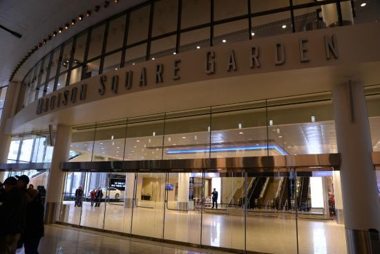 Entrance From Penn Station Picture Of Madison Square Garden New York City Tripadvisor