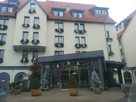 Hotel Restaurant Spa Verte Vallee : entrée