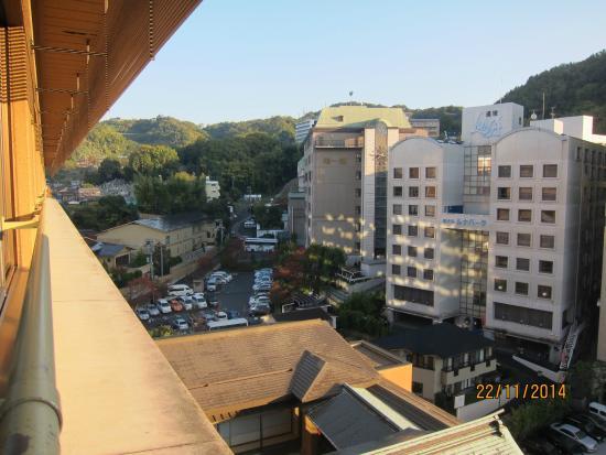 Dogoonsen Yamatoya Honten: view from room