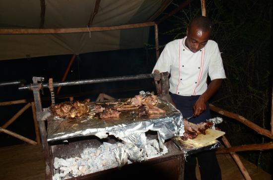 Elangata Olerai Luxury Tented Camp: Nyama choma finest