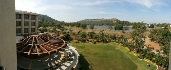 Aakar Lords Inn : View from the room