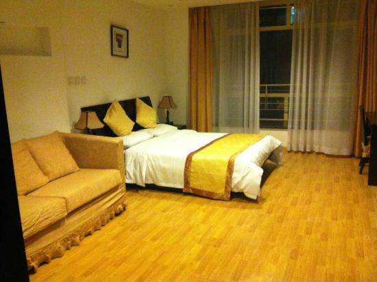 Yuan'ao City Hotel: вид от двери