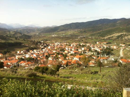Azanias Chalet Kalavrita : City view