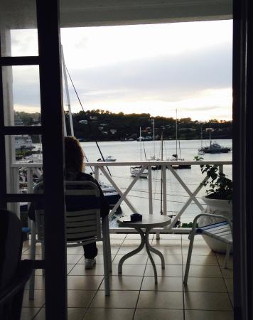 أوبيرج سيرافين: Room with a view