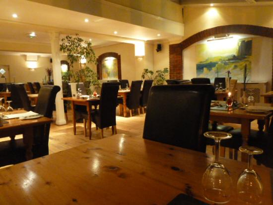 The Gower Hotel and Orangery Restaurant : Inside The Orangery Restaurant