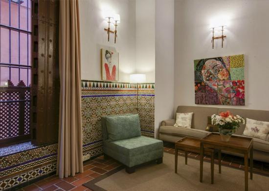 Hotel Alcantara: Salón